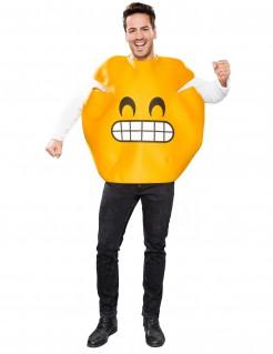Grinsendes Emoticon Kostüm für Erwachsene