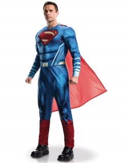 Justice League™ Superman™ Herrenkostüm Lizenzware blau-rot