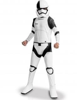 Stormtrooper-Kinderkostüm Star Wars VIII™-Lizenzkostüm weiss-schwarz