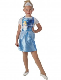 Cinderella™ Kostüm-Set für Mädchen Disney™ Lizenzartikel blau