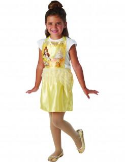 Belle™ Kinderkostüm für Mädchen Dinsey™ Lizenzartikel gelb-bunt