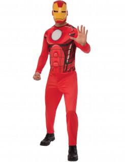 Iron Man™-Lizenzkostüm Marvel-Superheldenkostüm rot-gelb