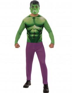 Hulk™-Kostüm Marvel-Lizenzkostüm grün-violett