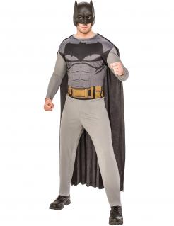Batman™-Herrenkostüm Lizenzkostüm Comic grau-schwarz