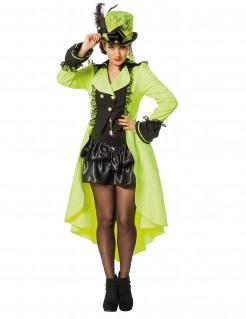 Luxuriöser Mantel für Damen gelb