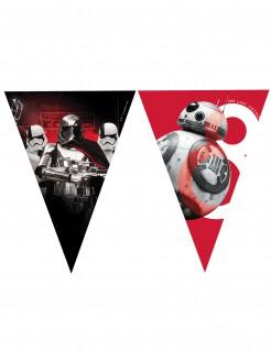 Star Wars: Die letzten Jedi™ Girlande BB-8 und Captain Phasma rot-schwarz-weiss 2,3m