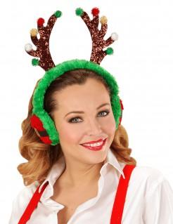 Rentier Weihnachts-Ohrenschützer für Erwachsene