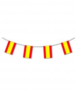 Spanien-Girlande Spanien-Fanartikel gelb-rot 5m