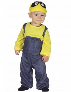 Cartoon-Babykostüm gelb-blau-schwarz