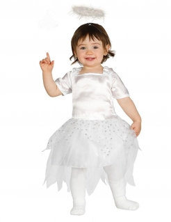 Engelchen-Babykostüm weiss