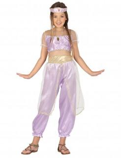 Orientalische Prinzessin Kinderkostüm Tänzerin flieder