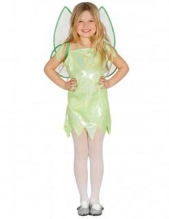 Fee-Kinderkostüm Märchenelfe grün