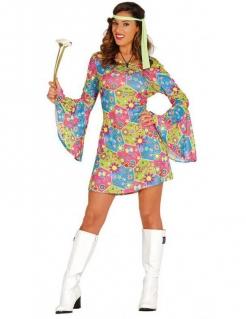Reizendes Hippie-Kostüm bunt