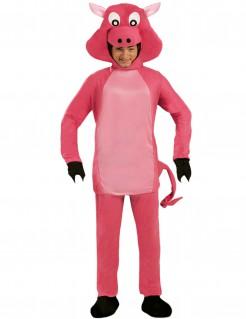 Schweinekostüm für Erwachsene pink
