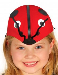 Marienkäfer-Hut für Kinder rot-schwarz