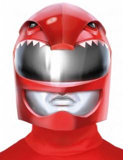 Galaktischer Krieger Helm-Maske rot