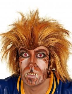 Werwolf-Perücke Halloween-Perücke braun