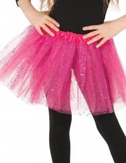 Tutu mit Glitter für Mädchen rosa