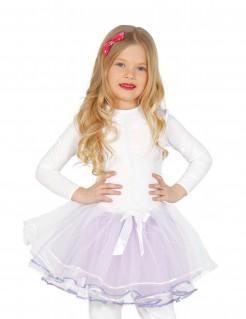 Prinzessinnen-Tutu für Mädchen flieder-weiss