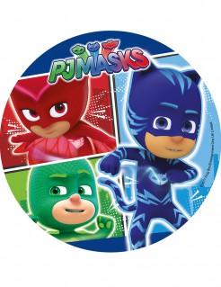 PJ Masks™-Zuckerplatte Kuchendeko bunt 21cm