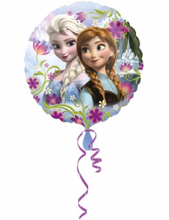 Frozen Die Eiskönigin Aluminium Ballon Partydeko bunt 43cm