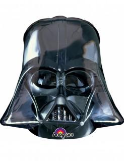 Darth Vader Luftballon Star Wars™-Lizenzartikel schwarz 63x63cm
