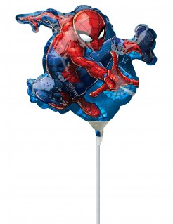 Spiderman™-Folienballon Marvel-Lizenzartikel blau-rot
