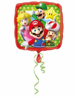 Super Mario™-Luftballon Videospiel-Ballon bunt 43x43cm