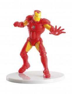 Iron Man™-Kuchendekofigur Marvel-Lizenzartikel rot-gelb