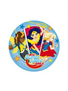 Super Hero Girls™-Tortenaufleger DC-Lizenzartikel bunt 20cm