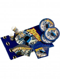 Batman™-Geschirrset 25-teilig Superheld bunt