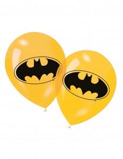 Batman™-Luftballons 6 Stück schwarz-gelb