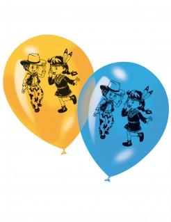 Western Cowboy und Indianer Luftballon Set 6 teilig