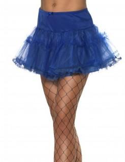 Petticoat Damen blau