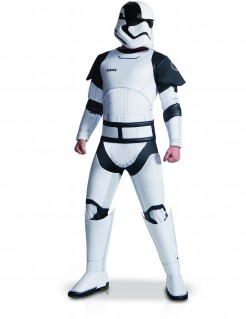 Executioner Stormtrooper-Kostüm Star Wars 8™ Lizenzkostüm weiss-schwarz