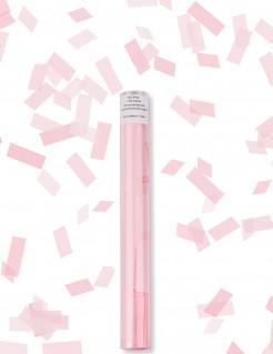 Konfettikanone Rechtecke Dekoration rosa