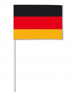 Deutschland-Fahne Fanartikel schwarz-rot-gold 14x21cm