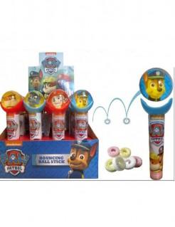 Paw Patrol™ Flummiball Geschicklichkeitsspiel mit Bonbons bunt 11cm