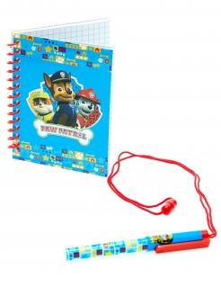 Paw Patrol™-Notizbuch mit Stift Geschenkidee blau