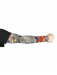 Drachen Tattoo-Sleeve für Erwachsene bunt