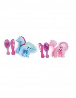 Pony zum Frisieren Piñata-Accessoire bunt 6cm