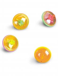Leuchtkreisel Spielzeug Pinatazubehör bunt 4,5 cm