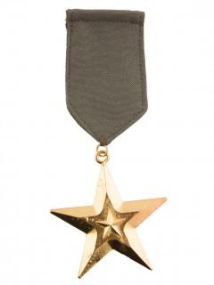 Militär-Medaille Accessoire khaki-gold