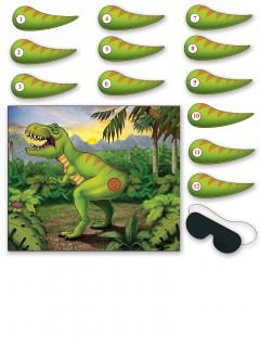 Dinosaurier-Partyspiel bunt