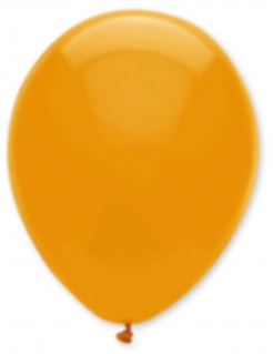 Set aus 6 orangenen Luftballons