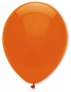 6 Luftballons in Orange 30 cm