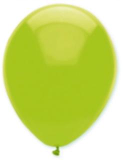 6 Luftballons lindgrün 30cm
