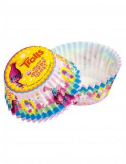 Trolls™ Cupcakeformen Papierformen 50 Stück bunt 5cm