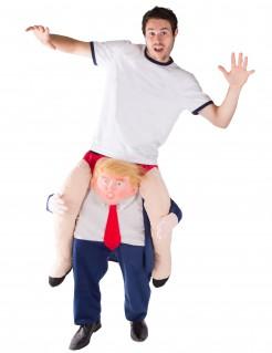 Carry-Me-Kostüm Donald für Erwachsene bunt