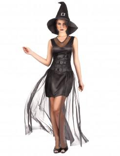 Dunkles Hexenkostüm Halloween-Damenkostüm
